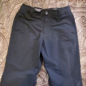 Under Armour youth s black loose fit slacks